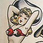 Original Sailor Jerry Flash Sheet 1F