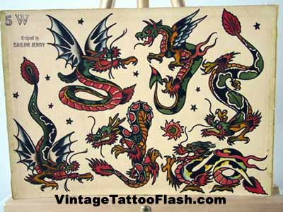 sailor jerry tattoo flash evil tattoo drawings
